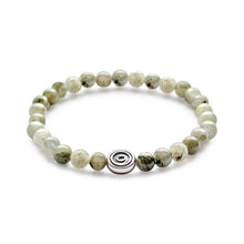 Gratitude Bead Bracelet - Grey Labradorite | Protection | Balance | Awareness - MINDFUL ZEBRA