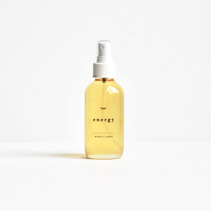 Energy Bath + Body Oil - MINDFUL ZEBRA