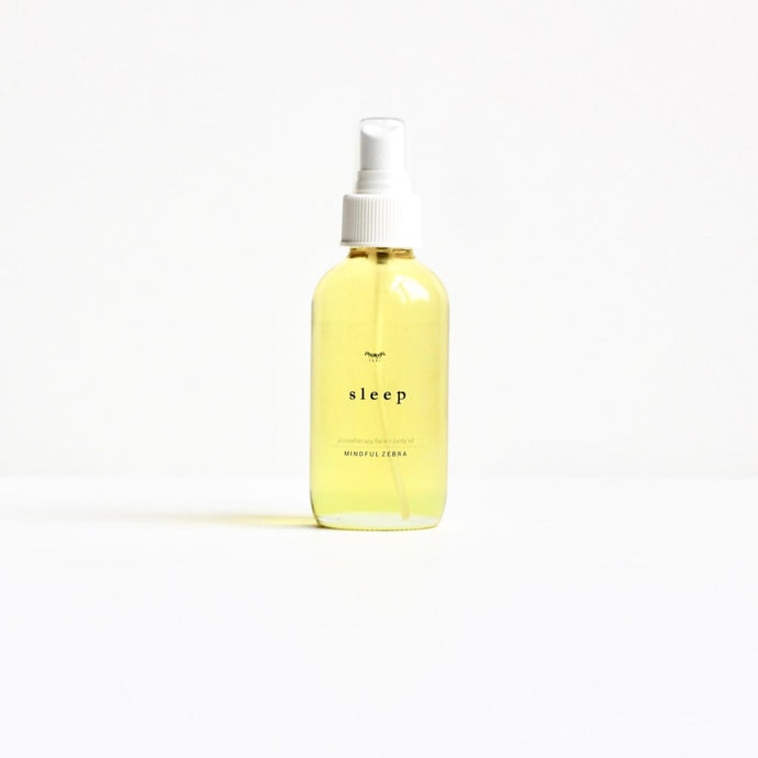 Sleep Face + Body Oil - MINDFUL ZEBRA