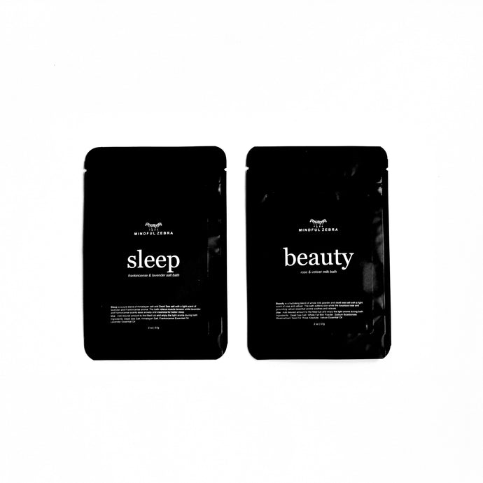 Travel Size - Sleep & Beauty Bath - MINDFUL ZEBRA