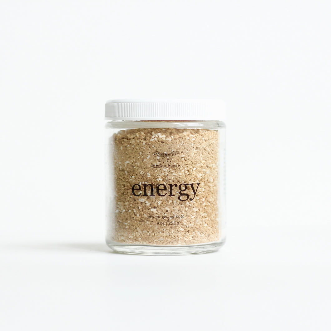 Energy Orange Ginger Bath