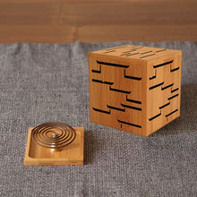 Bamboo Incense Burner - MINDFUL ZEBRA