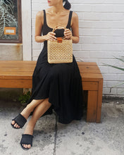 Jenny Handmade Straw Ring Handle Bag