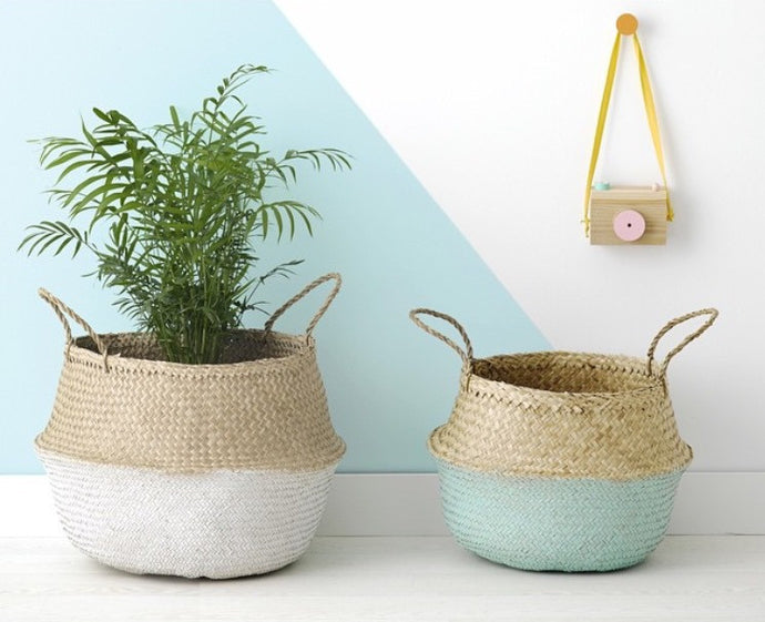 Eco-Friendly Straw Basket