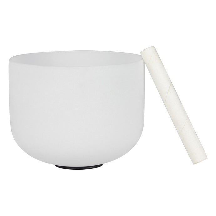 Crystal Singing Bowl G Note for Healing Meditation & Yoga - MINDFUL ZEBRA