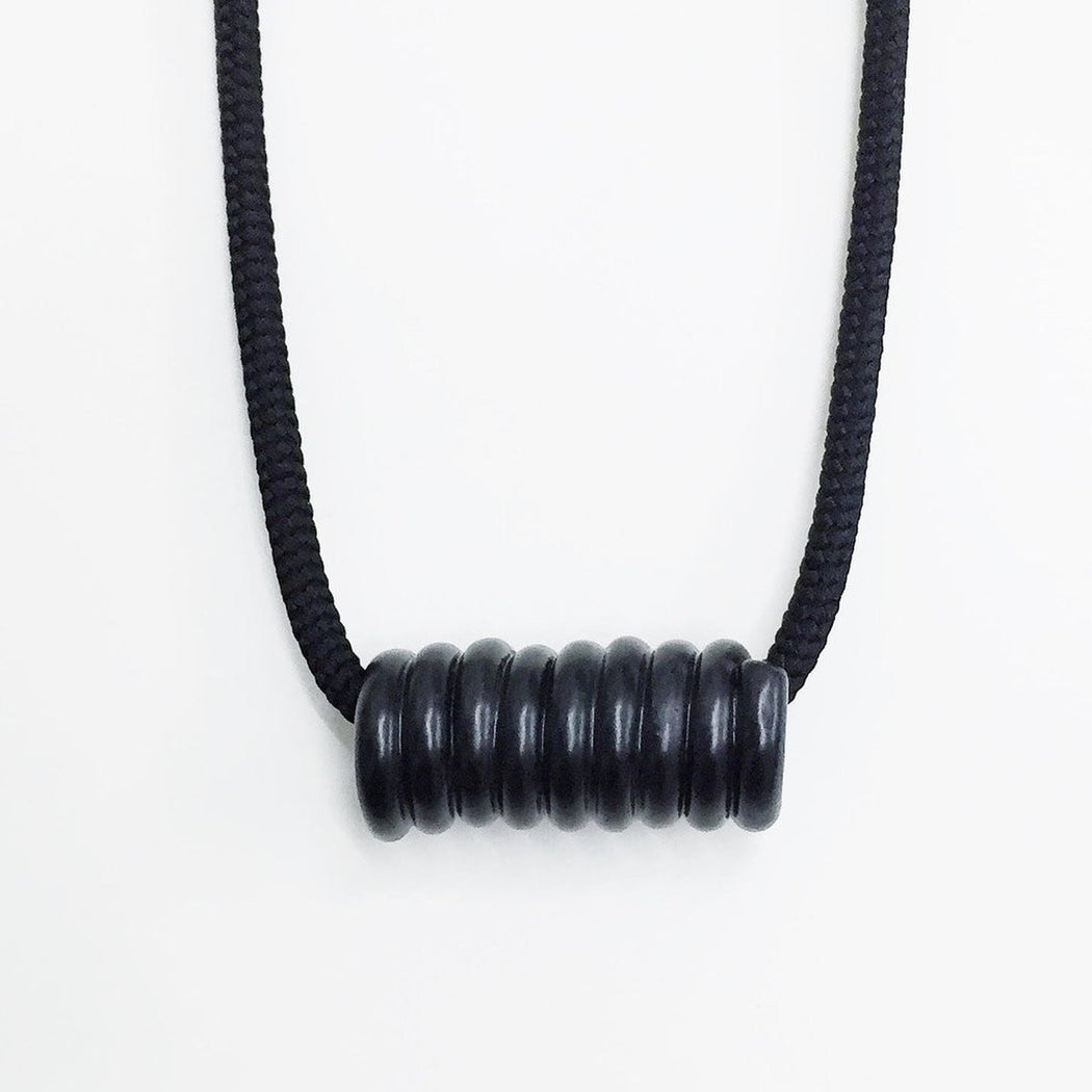 Matte Coil Necklace