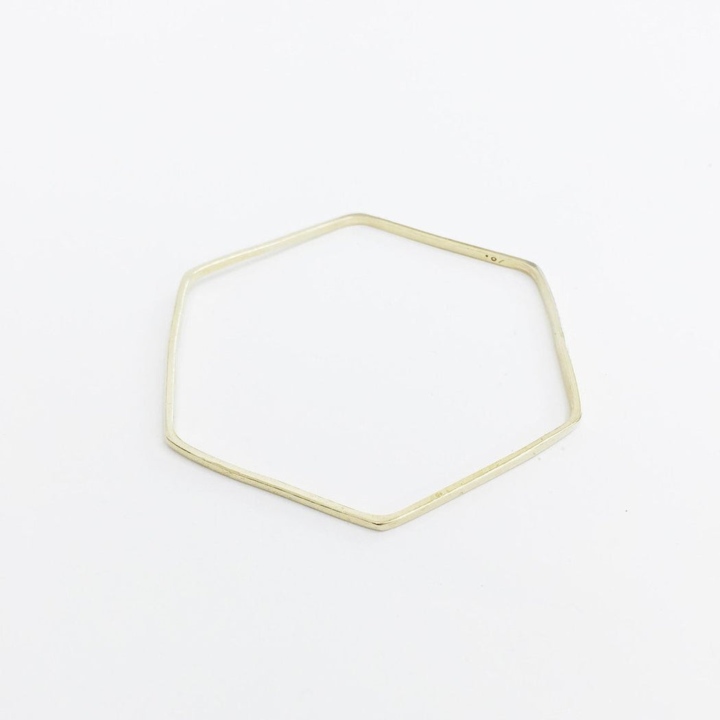 Skinny Hex Bangle