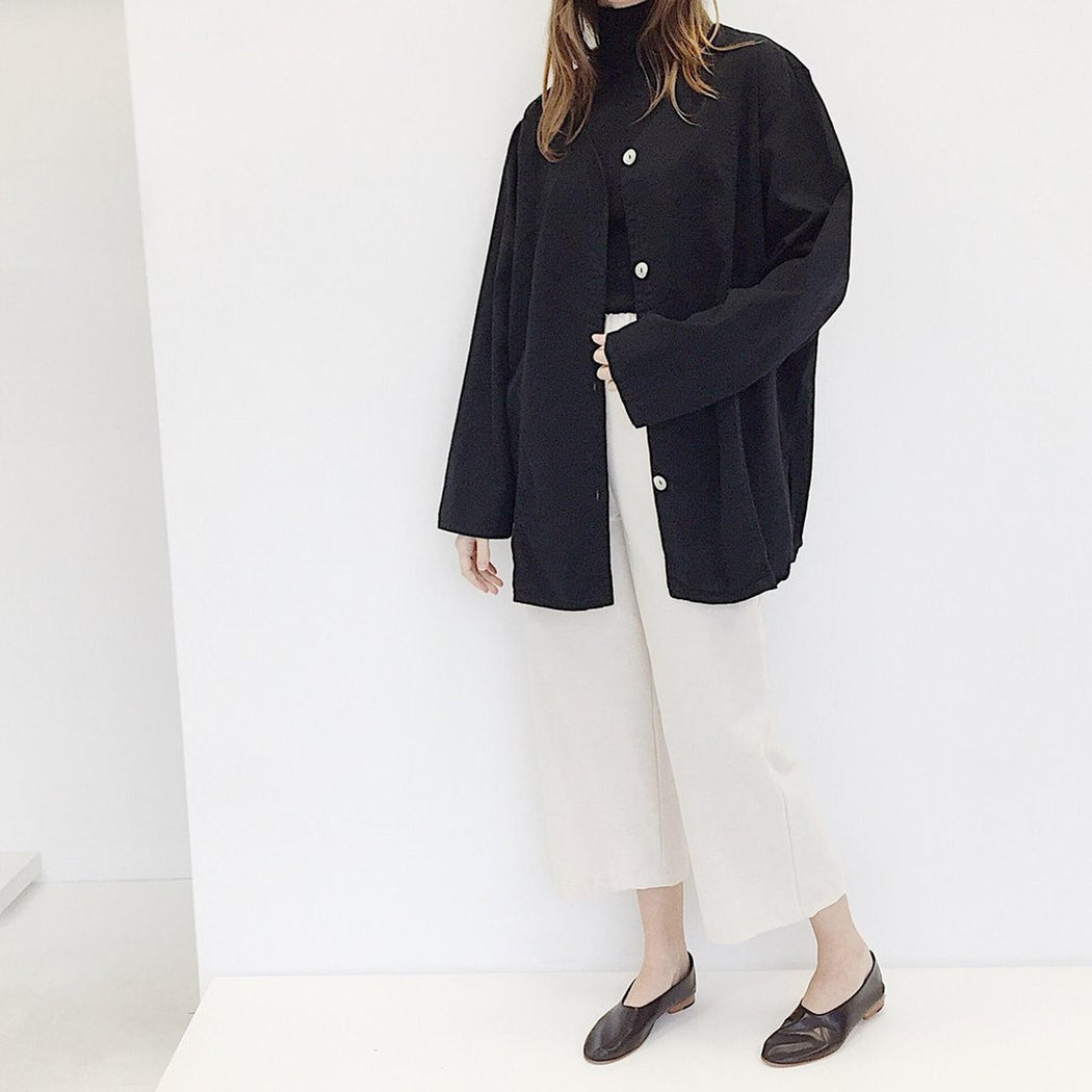 Oversized Shirt Jacket