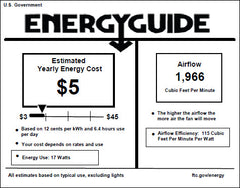 95210 windmill ceiling fan energy guide