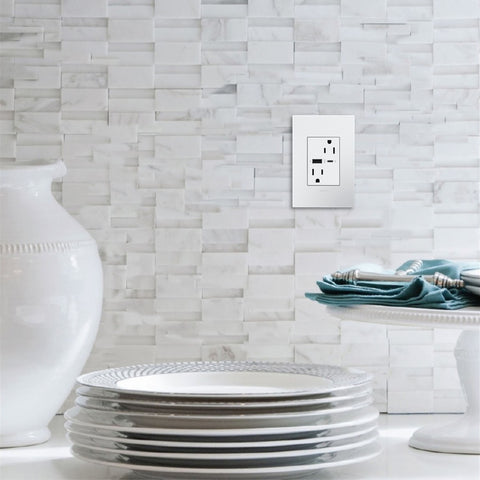wall outlet with usb c