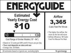 F734 Energy Guide