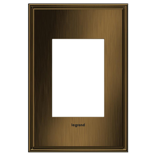 Adorne Cast Metals 1-Gang + Wall Plate, Coffee