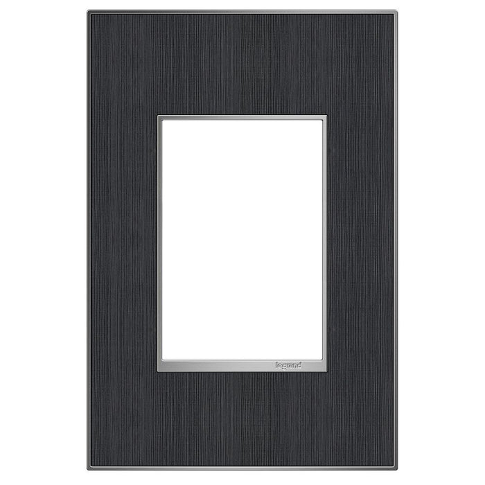 Adorne Real Materials 1-Gang + Wall Plate, Rustic Grey