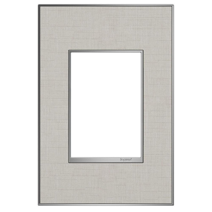 Adorne Real Materials 1-Gang + Wall Plate, True Linen