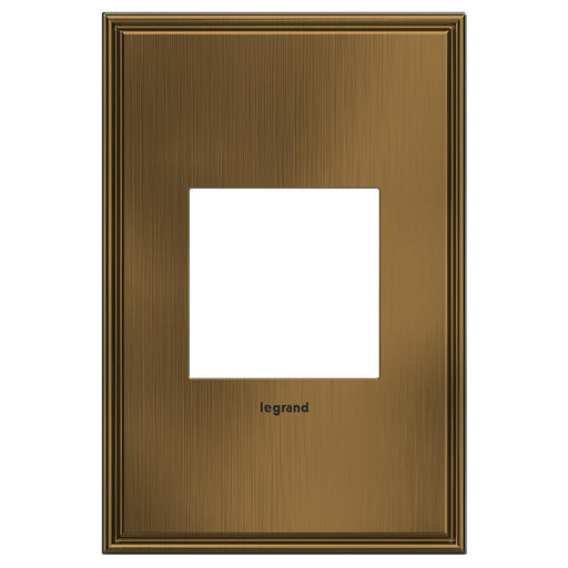 Adorne Cast Metals 1-Gang Wall Plate, Coffee