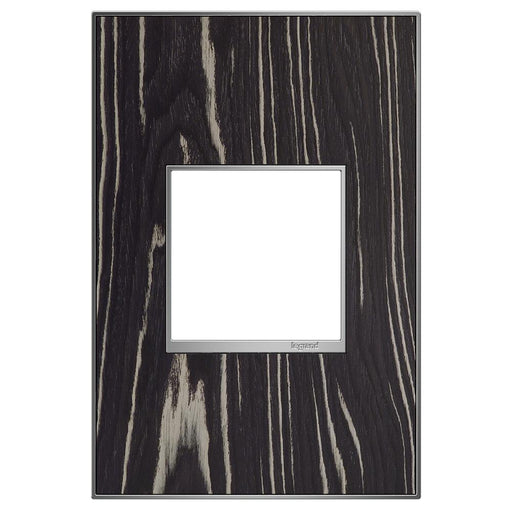 Adorne Real Materials 1-Gang Wall Plate, Macassar