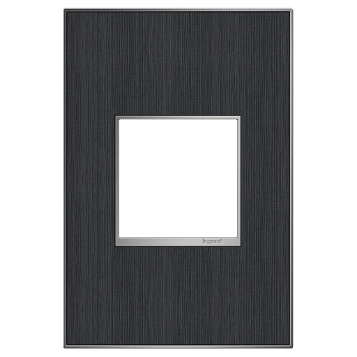 Adorne Real Materials 1-Gang Wall Plate, Rustic Grey