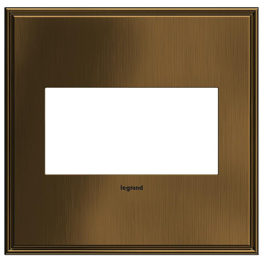 Adorne Cast Metals 2-Gang Wall Plate, Coffee