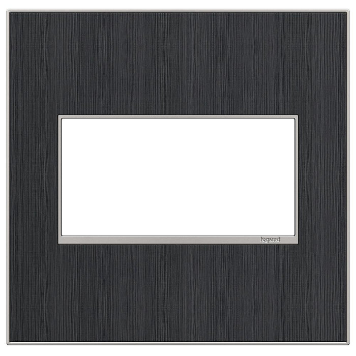 Adorne Real Materials 2-Gang Wall Plate, Rustic Grey