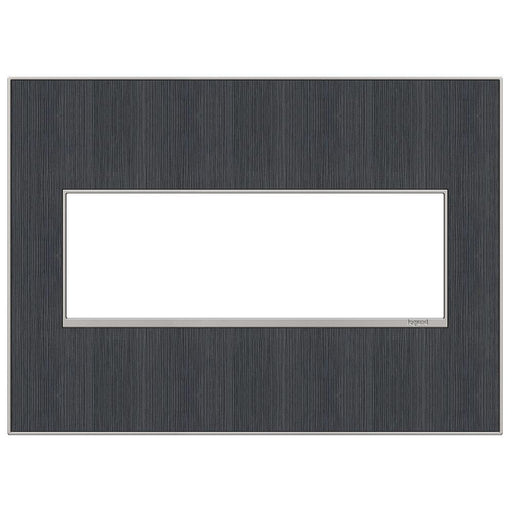 Adorne Real Materials 3-Gang Wall Plate, Rustic Grey