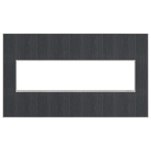 Adorne Real Materials 4-Gang Wall Plate, Rustic Grey