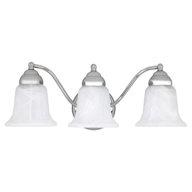 an image of Capital Lighting Capital Vanities 3 Light Vanity in Chrome