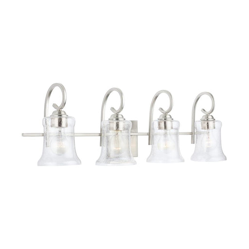 an image of Capital Lighting Cameron 4 Light Vanity - HomePlace Collection 139541BN-501