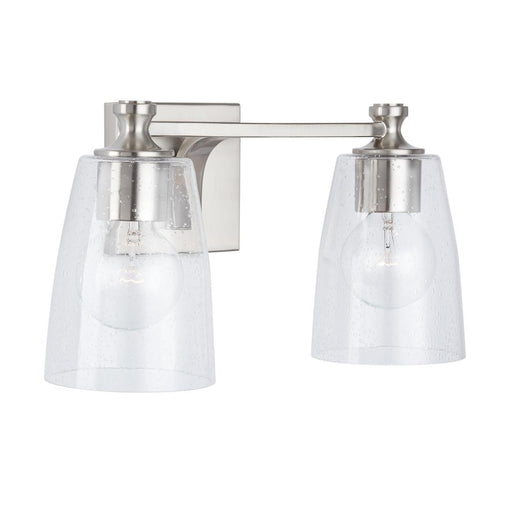 an image of Capital Lighting Myles 2 Light Vanity - HomePlace Collection 140921BN-506