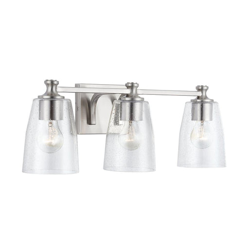 an image of Capital Lighting Myles 3 Light Vanity - HomePlace Collection 140931BN-506