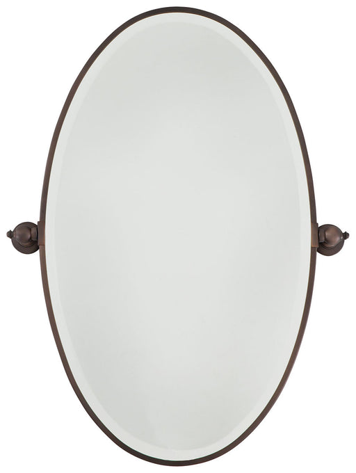 Minka Lavery XL Oval Mirror - Beveled