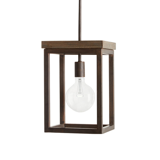 an image of Capital Lighting 1 Light Pendant in Nordic Grey