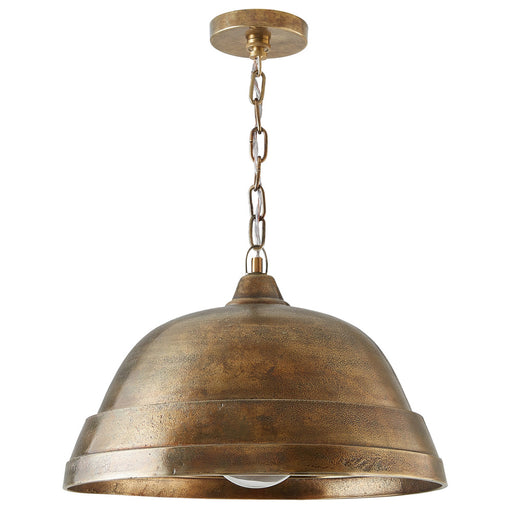 an image of Capital Lighting 1 Light Pendant in Oxidized Brass
