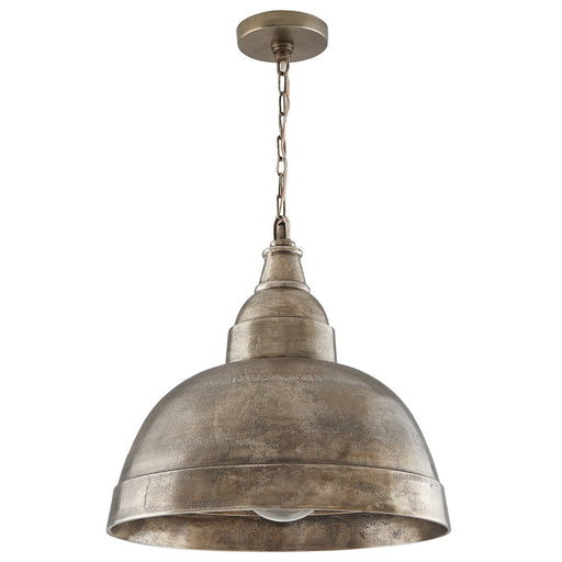 an image of Capital Lighting 1 Light Pendant in Oxidized Nickel