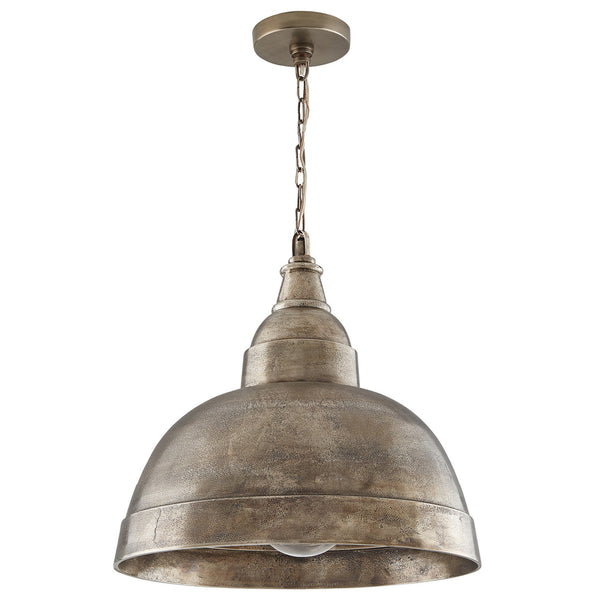 Capital Lighting 330313XN One-light pendant in Oxidized Brass