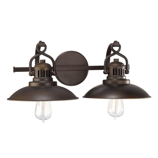 an image of Capital Lighting O'Neal 2 Light Vanity in Burnished Bronze