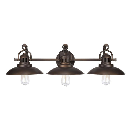 an image of Capital Lighting O'Neal 3 Light Vanity in Burnished Bronze
