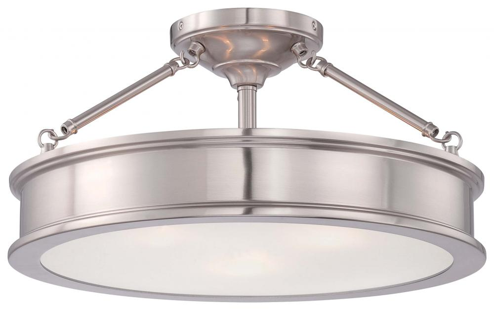 Minka Lavery Harbour Point - 3 Light Semi Flush