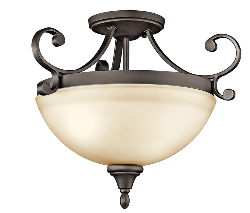 Monroe Semi Flush 2Lt
