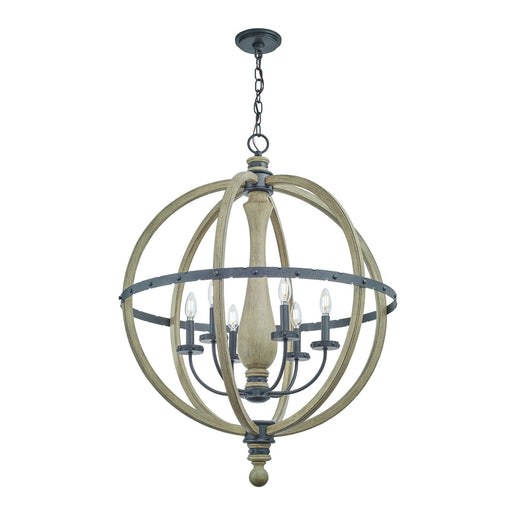 Evan Chandelier 6Lt