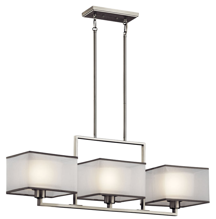 Kailey Linear Chandelier 3Lt