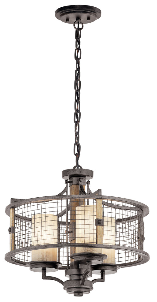 Ahrendale Chandelier/Semi Flush 3Lt