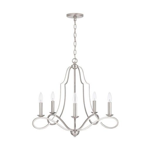 an image of Capital Lighting Cameron 5 Light Chandelier - HomePlace Collection 439551BN