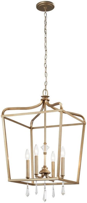 Minka Lavery Laurel Estate - 4 Light Pendant (Convertible To Semi Flush)