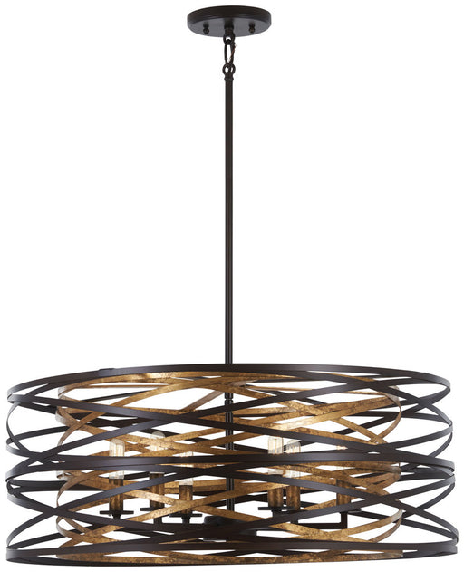 Minka Lavery Vortic Flow - 6 Light Pendant