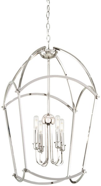 Minka-Lavery 4774-613 Jupiter's Canopy Pendant, Polished Nickel