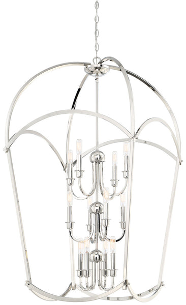 Minka-Lavery 4775-613 Jupiter's Canopy Pendant, Polished Nickel