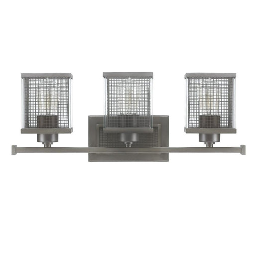 an image of Capital Lighting Carson 3 Light Vanity in Graphite