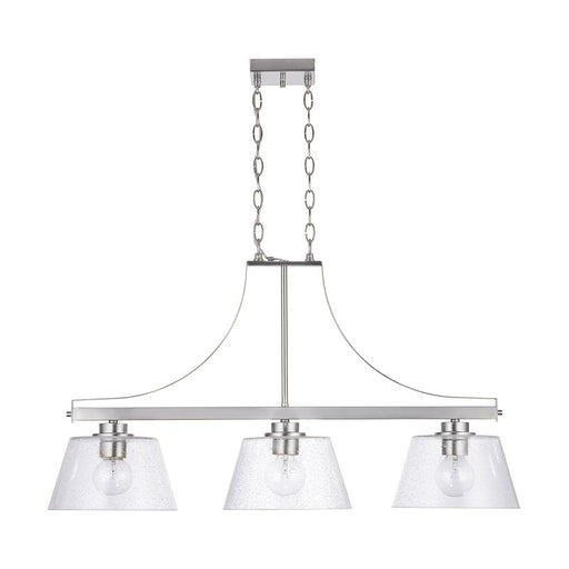 an image of Capital Lighting Independent 3 Light Island - HomePlace Collection 838434BN
