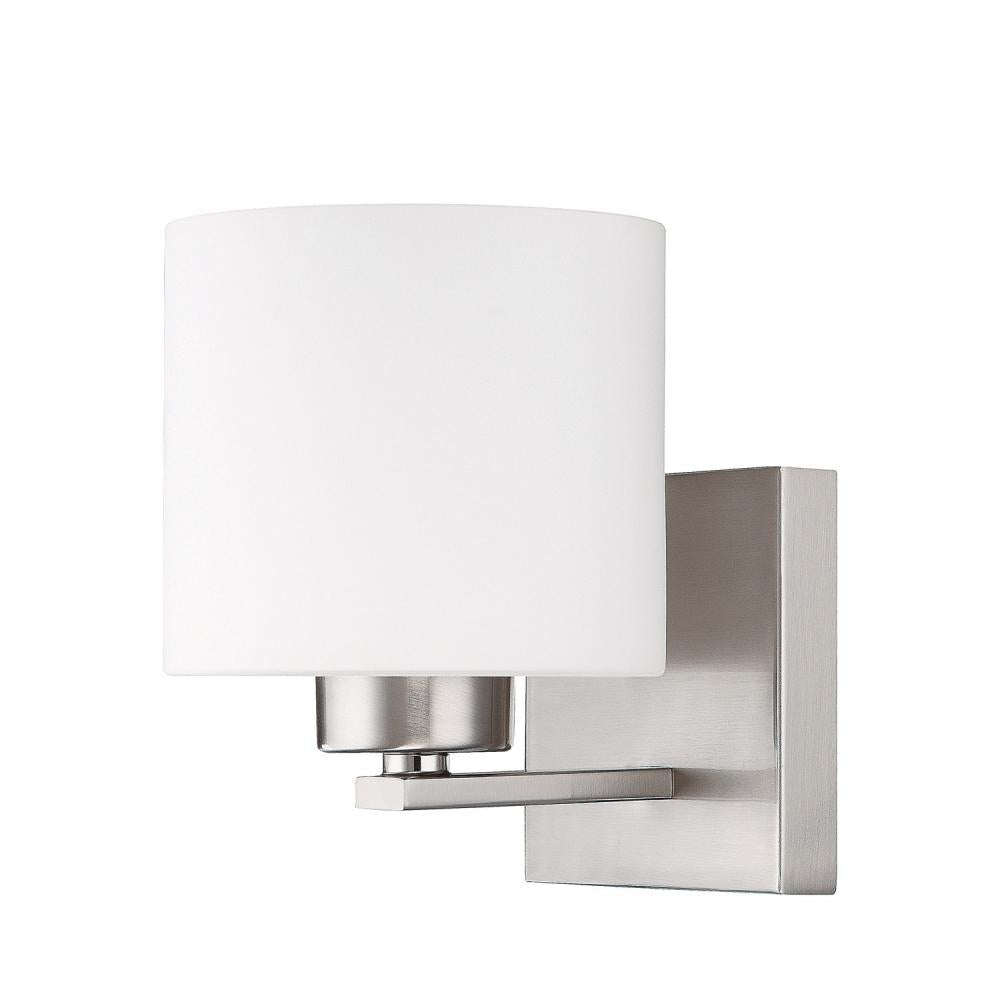 Capital Lighting 8491BN-103 - Steele 1 Light Sconce, Brushed Nickel
