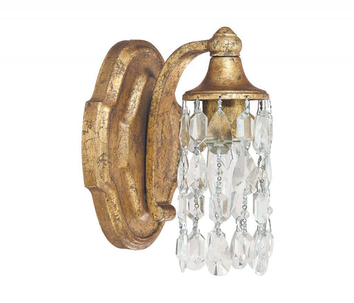 an image of Capital Lighting Blakely 1 Light Sconce in Antique Gold